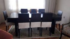 Sekiz Sandalyeli Yemek Masası